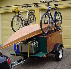 outland trailers: sherpa - keep stocked in the garage, hook it up and ...