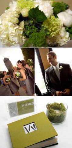 A Modern, Traditional Wedding