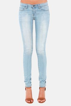 Wonderful Light Blue Jeans On Pinterest  Light Blue Jeans Outfit Skinny Jeans