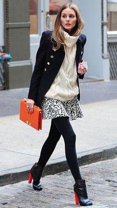 Olivia Palermo - Street Style - Winter
