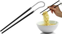 Protect Your Last Piece Of Sushi With Nunchaku Chopsticks