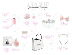 """A Few Of My Favourite Girly Things ♡"" by xx-isabella-xx on Polyvore featuring Ross-Simons, Kate Marie, Forever 21, Essie, Chanel and Charlotte Russe"