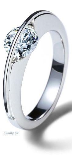 Emmy DE * beautiful diamond ring ~ 'Liberté Arcana' by Schaffrath