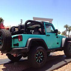 Tiffany+Blue+2+Door+Jeep+Rubicon+-+Fuel+Offroad+Wheels+-+Total+Auto ...