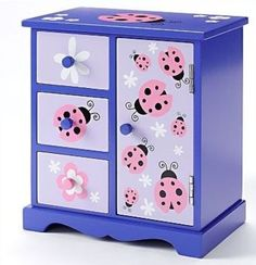 Jewelry Box El Paso Adorable Jewelry Box For A Little Girl  Crafty Gift Ideas