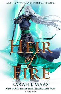 Heir of Fire by Sarah J. Maas (UK Edition) • September 11, 2014 • Bloomsbury Childrens https://www.goodreads.com/book/show/20617636-heir-of-fire