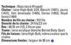 Tissage: couverture pour enfant - Les Cercles de Fermières du Québec Baby Sport, Math, Circles, Weaving, Math Resources, Mathematics