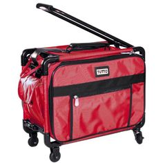 Tutto Collapsible 17 Carry on Luggage Red ** This is an Amazon Affiliate link. For more information, visit image link.