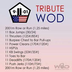 9-11 Tribute WOD