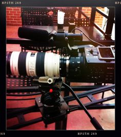 The Sony FS100 is 'a switchblade of a camera'