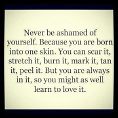 So true Find the #happiness within your self & always be comfortable in your own skin