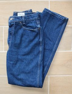 770a12e3 The perfect 90s high Waisted mom jeans. These vintage Calvin Klein jeans  are USA made