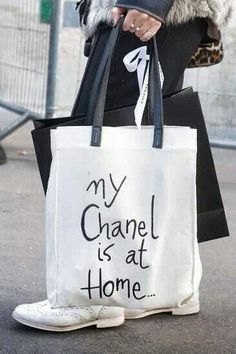 My Chanel is at home.