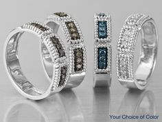 Delicious Mocha Diamond™ Rings - Jewelry Television - www.jtv.com