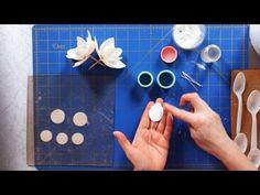 How to Make Magnolia Sugar Paste Flower Petals | Sugar Flowers - YouTube