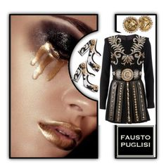 """""""Fabulous"""" by fl4u ❤ liked on Polyvore featuring mode, FAUSTO PUGLISI, Dolce&Gabbana, holidaystyle et Puglisi"""