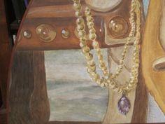 La collana di Venere poggiata su un sedile