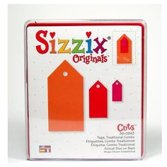 Sizzix Tags Traditional Combo (Large)