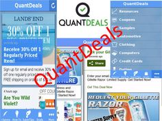 QuantDeals Mobile App  provides rewards at the end of the path, including offers for paid surveys, cash prizes, contests, cheap stuff, games, sweepstakes, and more. Complete the entire survey with valid answers to claim your rewards.
