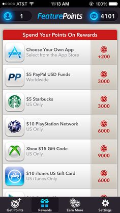 This cool app called Feature Points helps you earn money easy and fast! All you have to do is download other free apps and collect points to get paypal cash, amazon gift cards, and a lot more.  I've made $5 in just one day by playing on my cellphone! I definitely recommend it! Go to featurepoints.com on your phone to download the app.   Type in code referral: G4SBFK to get 50 points free. :)   This is a LEGIT app, check for yourself and research it on google!