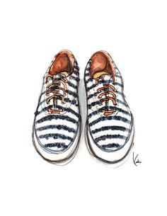 Keds Illustrated Art Print
