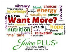 Juice Plus+ Complete for a nutritious meal replacement, snack, or recovery drink.  www.donnacodelljuiceplus.com