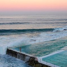 There is never a bad time for a swim! #bondi #icebergs #summer #ocean #seafolly
