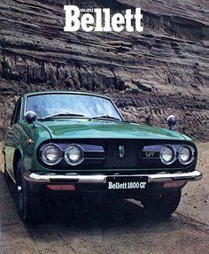 Bellett-1973 Auto Retro, Retro Cars, Classic Japanese Cars, Classic Cars, Classic Auto, Supercars, Mitsubishi Suv, Japanese Domestic Market, Car Brochure