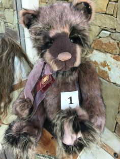 Twoddle Collectable Charlie Bears Fully Jointed 48 cm Plush 2015 Teddy Bear