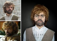 Tyrion Lannister' makeup by the amazing Sosenka (yes, she is a girl… and she is pretty too).