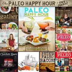 Paleo Girl's Kitchen: The Paleo Happy Hour Giveaway! Primal Recipes, Clean Recipes, Whole Food Recipes, How To Eat Paleo, Eat Healthy, Healthy Living, Paleo Cookbook, Paleo Bacon, Paleo Chocolate