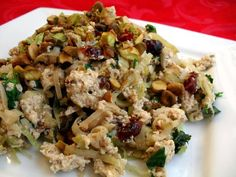 garam masala tofu scramble