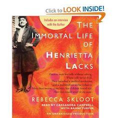 The Immortal Life of Henrietta Lacks (Jun-2013)