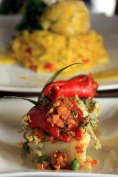 Peruvian Cuisine - Rocoto Relleno