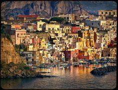 Coricella Bay, Naples, Italy