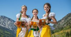 There are three weekends left to check out Oktoberfest at Snowbird Ski Resort!