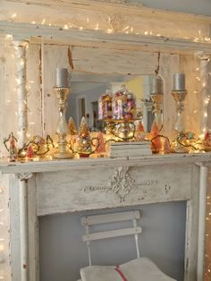 Chateau Chic: Christmas Home Tour. #holidaydecor