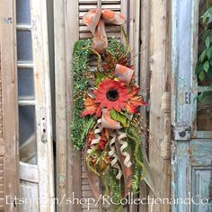 Fall Rectangle Outdoor Wreath, Wreath, Fall Wreath, Home Decor, Door Wreath by RcollectionandCo on Etsy https://www.etsy.com/listing/279048720/fall-rectangle-outdoor-wreath-wreath