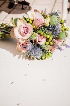 Ramos de novia con flores silvestres