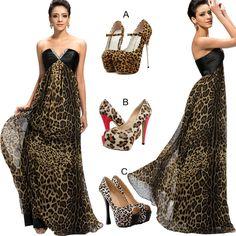 Sexy leopard summer dress!  Find More----> http://www.imaddictedtoyou.com/