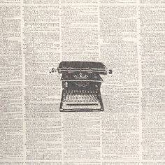 B1436 Newsprint   Greenhouse Fabrics