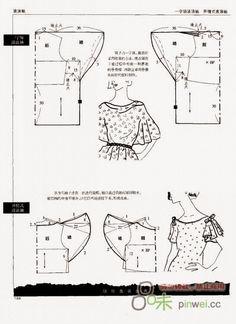 اكمام تفصيل مجاني Manches patron gratuit à partir de patron de base Free pattern… Sewing Hacks, Sewing Tutorials, Sewing Projects, Pattern Drafting Tutorials, Sewing Patterns Free, Clothing Patterns, Free Pattern, Top Pattern, Sewing Sleeves