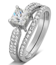 Pin by Gems Cove on Wedding Ring Set Pinterest Bridal sets Ring