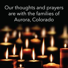To the victims of the shooting in Aurora, CO. God bless you. God, be with the families of the victims, the victims themselves, and also the shooter and his family. I'm praying for all involved.