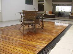 Jardim e Lazer Deck de Cumarú Instalado