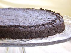 Torta con Farina di Carruba e Cioccolato - Dolce Senza Zucchero