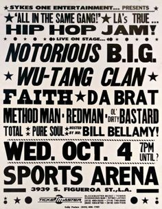 5c02fadfb9e Concert Poster for Los Angeles Memorial Sports Arena by Notorious B. on is  a marketplace for collectors