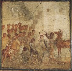 Trojan Horse. Fourth style. A.D. 50—79.Pompeii, House of Menander, I 10, 4, wing.