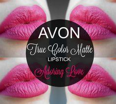 mela-e-cannella: Avon True Color Matte Lipstick - Adoring Love