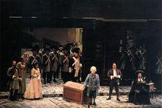 1992 Teatro Carlo Felice , Genova  Regia : Egisto Marcucci Scene : Emanuele Luzzati Costumi : Santuzza Calì